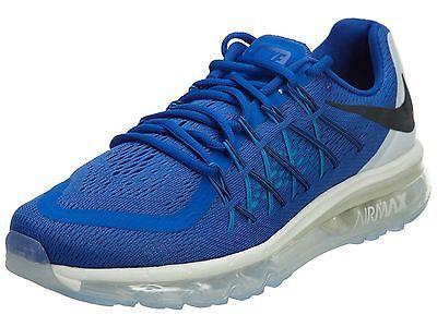 buy popular ba3c8 6ba7d Nike Air Max 2015 Mens 698902-400 Game Royal Blue Athletic Running Shoes Sz  10.5