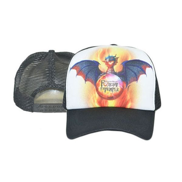 a71b559f76c Sublimated Flat Bill Snapback Mesh Foam Trucker Cap
