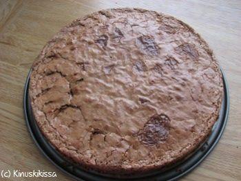 browniepohja (juusto)kakkuun