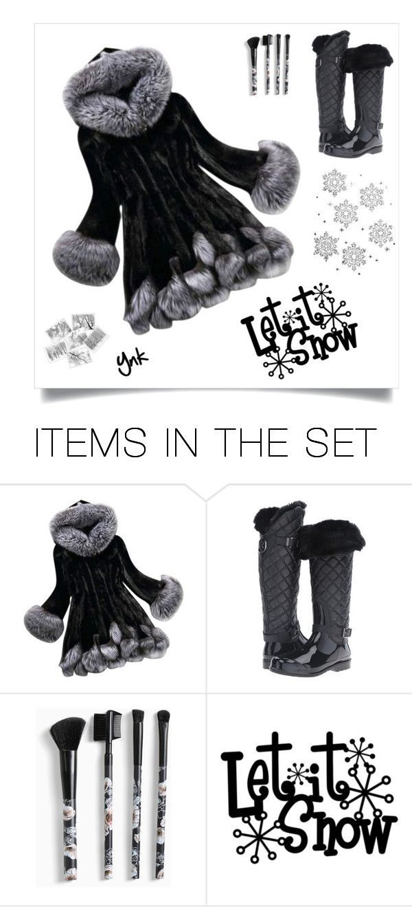 """""""Let it snow ..."""" by ynk24 ❤ liked on Polyvore featuring art"""