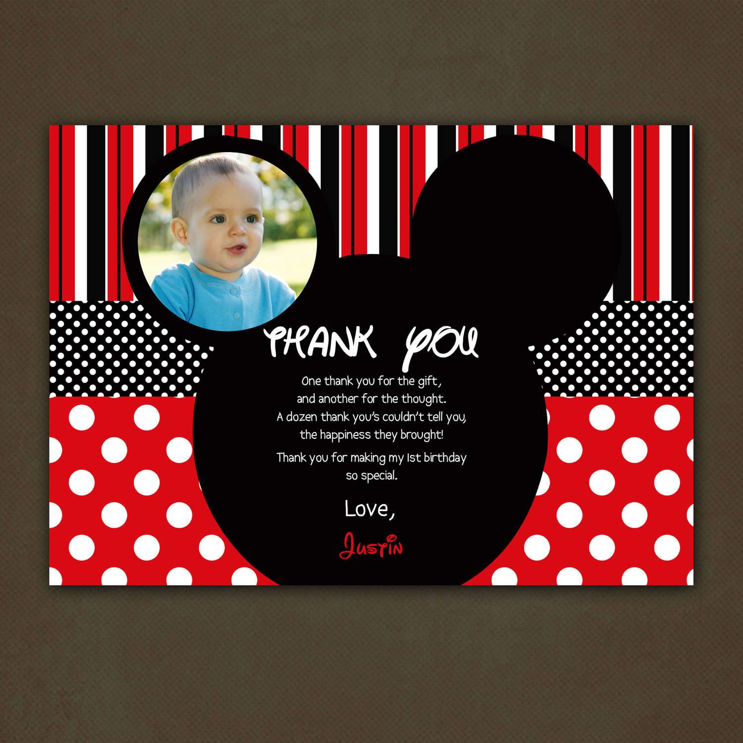 best images about mickey mousse printable 17 best images about mickey mousse printable party thank you cards and printable birthday invitations