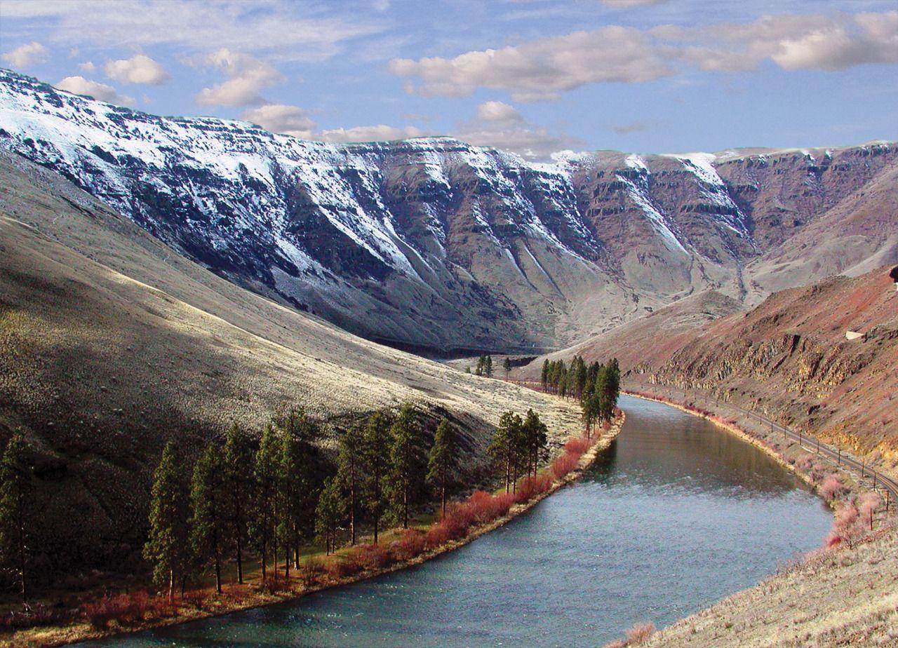 Yakima River Canyon Ah Basalt