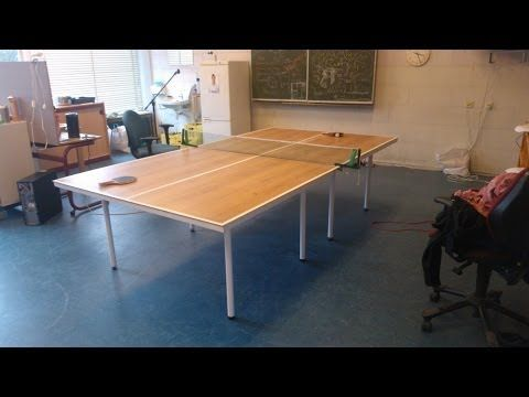 Attractive Upcycling Click Laminate To A Tabletennis Table