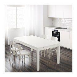 Tavolo Ikea Bjursta Bianco.Bjursta Tavolo Allungabile Bianco For The Home In 2019
