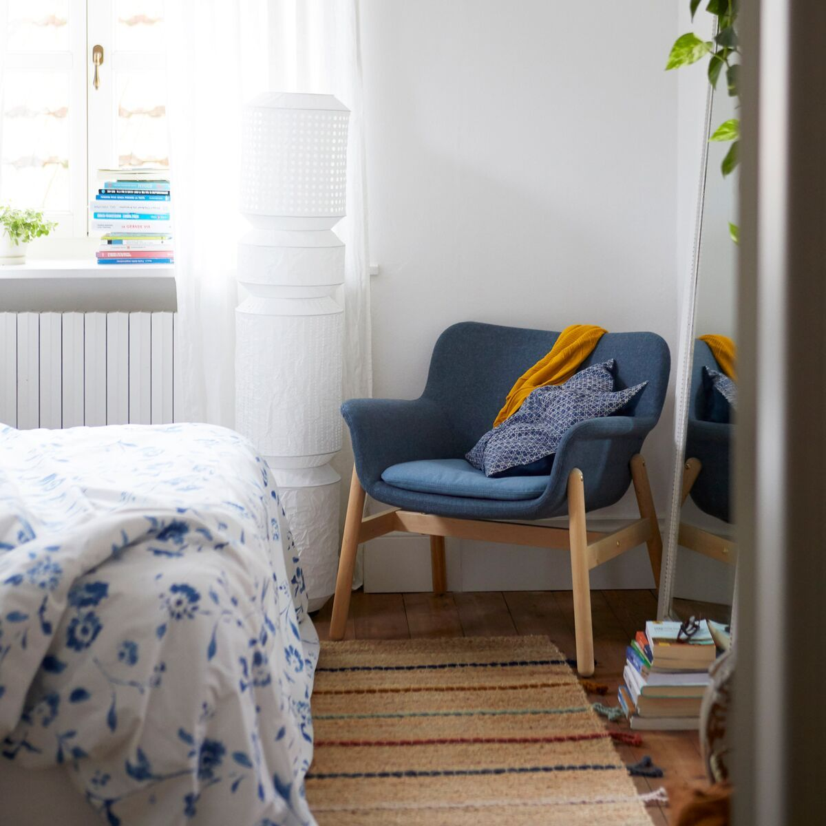 Vedbo Armchair Gunnared Blue Ikea Switzerland Bedroom Decor Inspiration Living Room Designs Living Room Trends