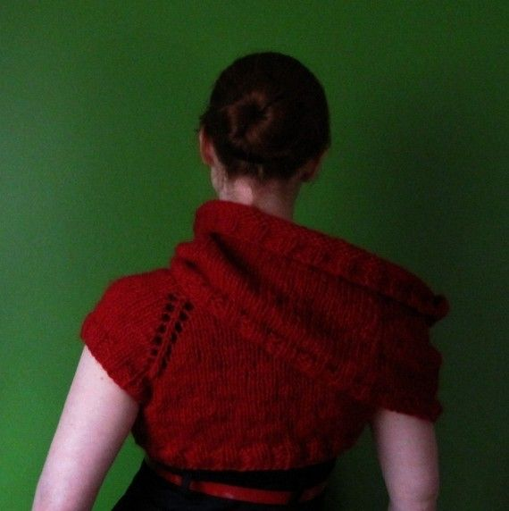 PDF knitting pattern Funnel Cloud Shrug by elf518 on Etsy, $5.00 ...