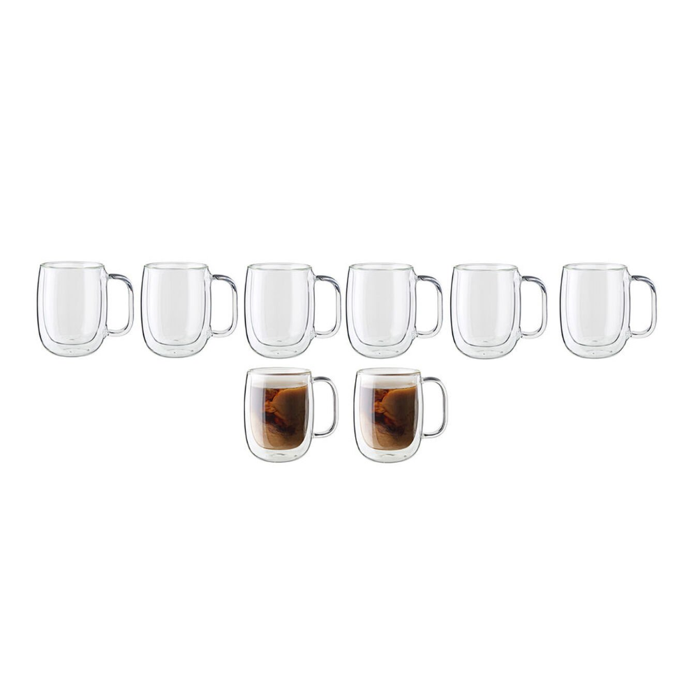 16+ Zwilling double wall glass mug info