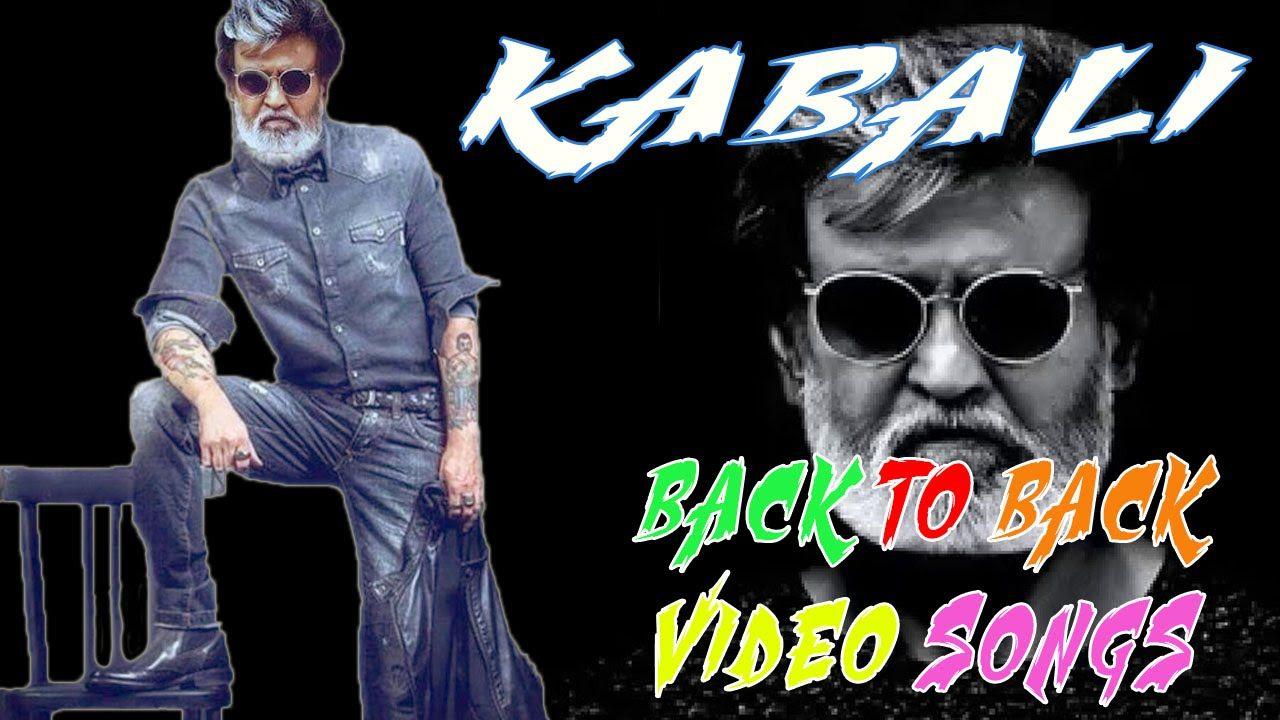 kabali Back To Back Video Songs Rajini kanth