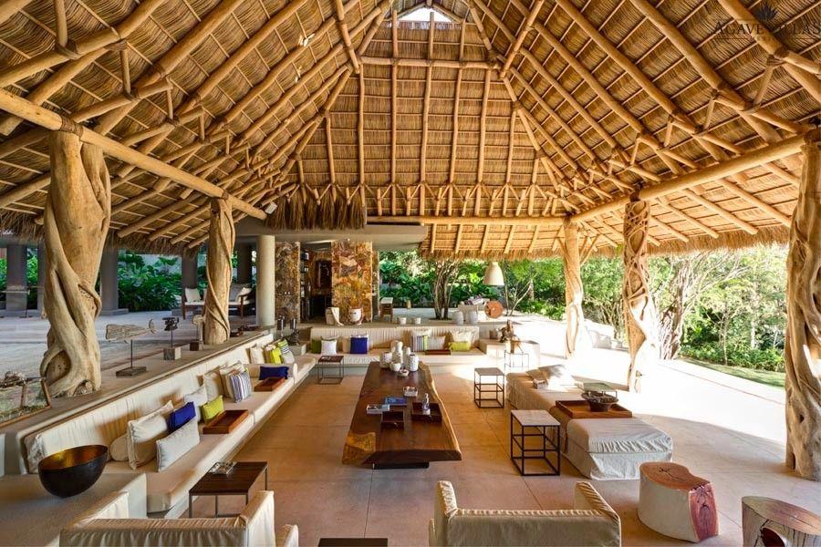 Casarena Beachfront 5 Bedroom Private Villa in Punta Mita