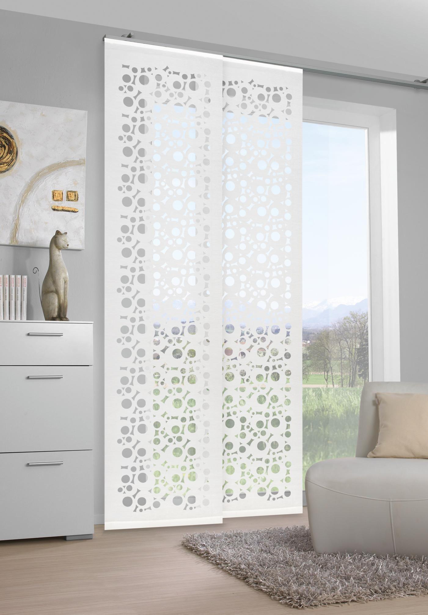 Vorhang In Weiss Von Venda Ausgefallenes Design Fur Ihr Wohnzimmer Vorhange Vorhange Wohnzimmer Vorhange Ideen