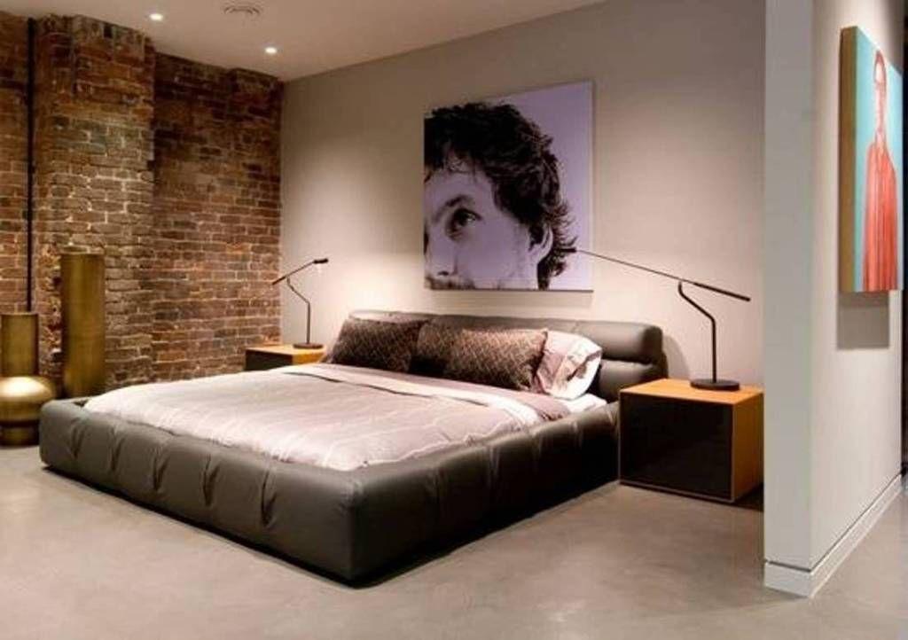 Simple Masculine Bachelor Bedroom Ideas Bachelor Bedroom Simple Bedroom Bachelor Pad Bedroom