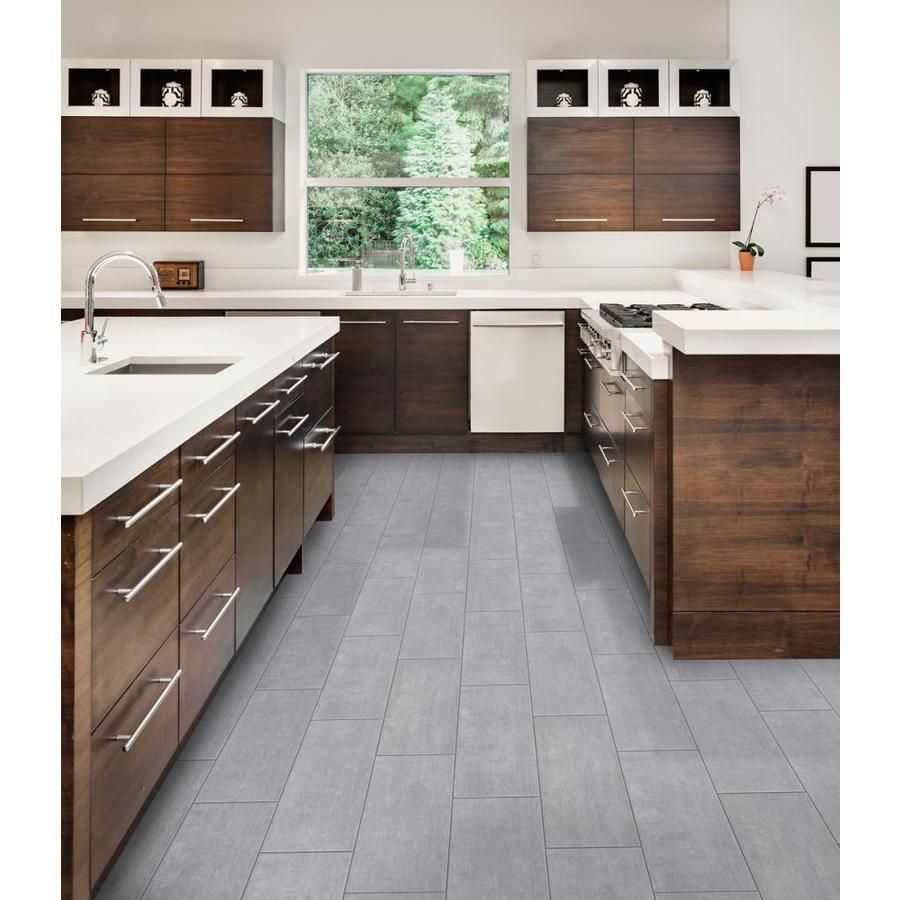 Style Selections Argyle Pearl 12 In X 24 In Glazed Porcelain Stone Look Floor And Wall Tile Lowes Com Wall Tiles Floor And Wall Tile Flooring