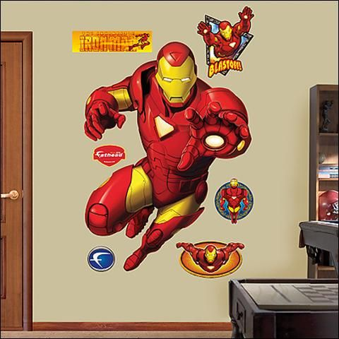Iron Man | Fathead Wall Decor | Pinterest