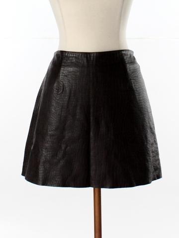 Women Size 5 Express Leather Skirt - thredUP Get 35% off ...