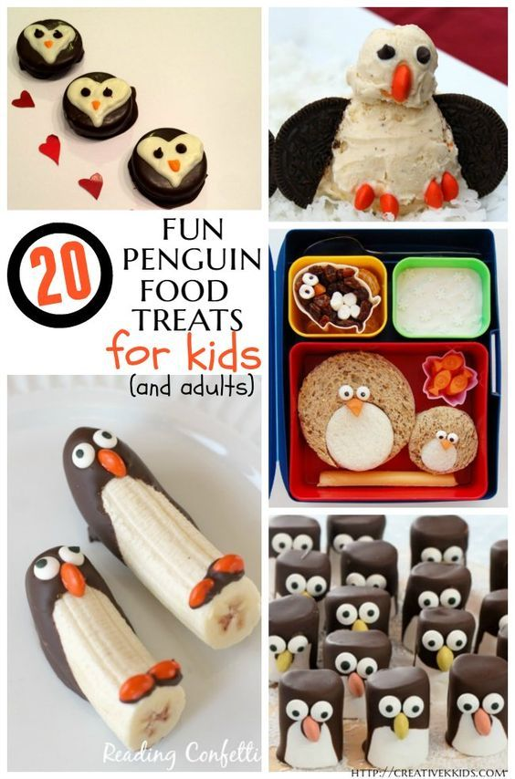 tasty tuesdays 20 penguin food ideas for kids the ultimate