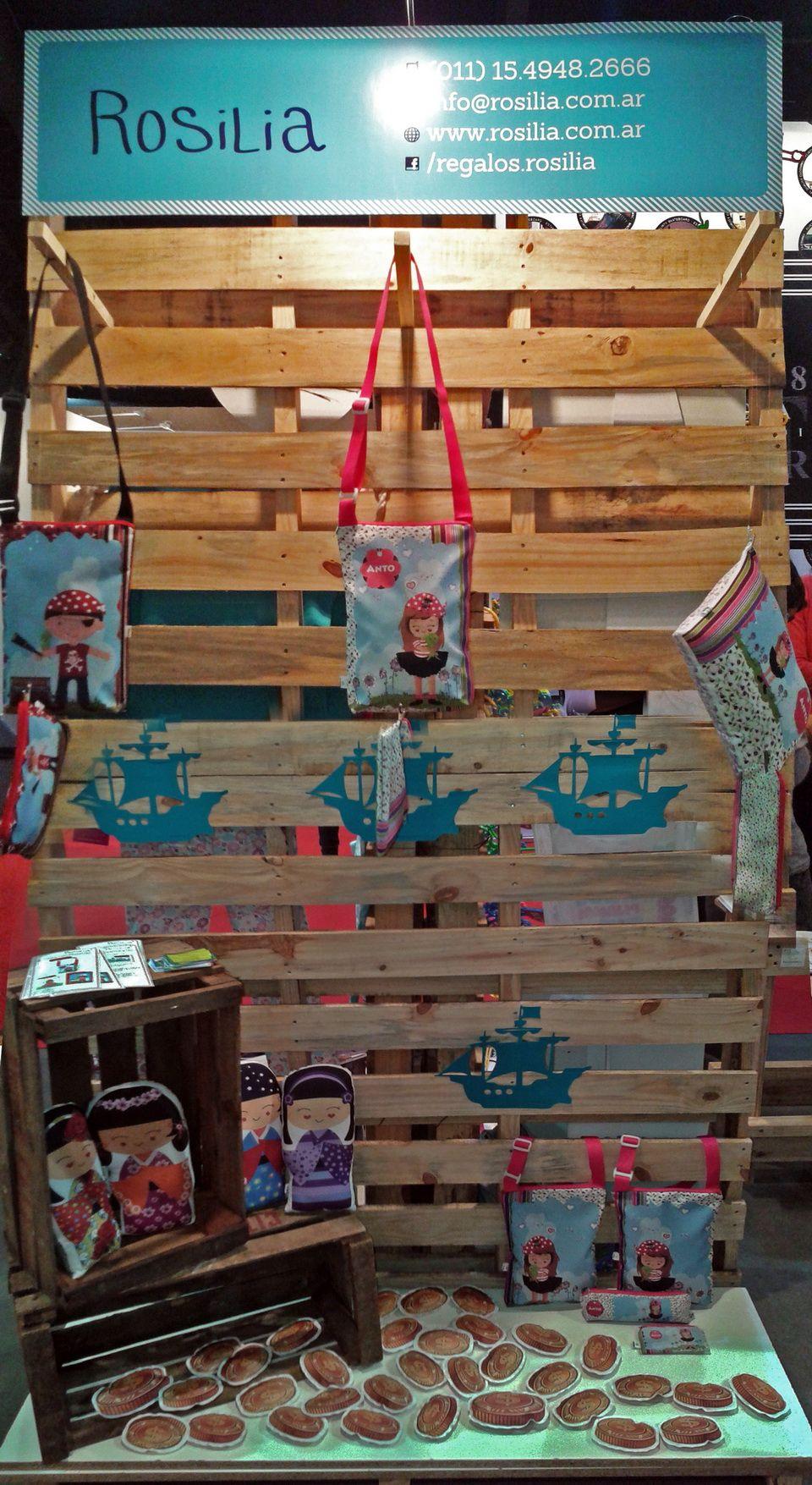 ROSILIA: Stand Nº 659 dedicado a Eco-diseño Infantil y Emprendedores infantiles