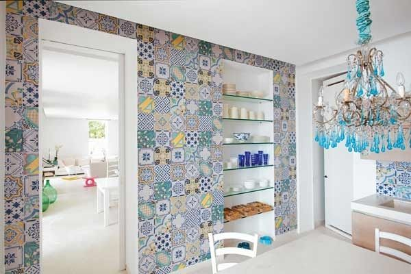 maioliche cucina moderna - Cerca con Google | Houses & Design ...