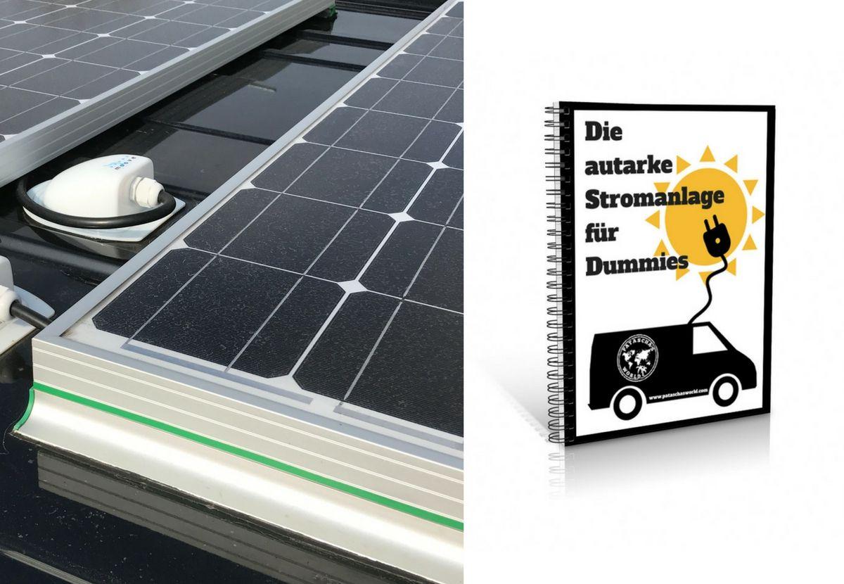 Die autarke Solar-Stromanlage für den Campervan. | Für dummies ...