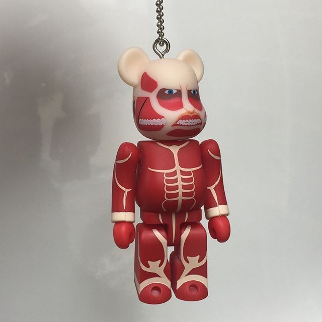 acb03c31 Fan of Attack on Titan? Their collaboration with Medicom Toy's Bearbrick  are available as Blindbox
