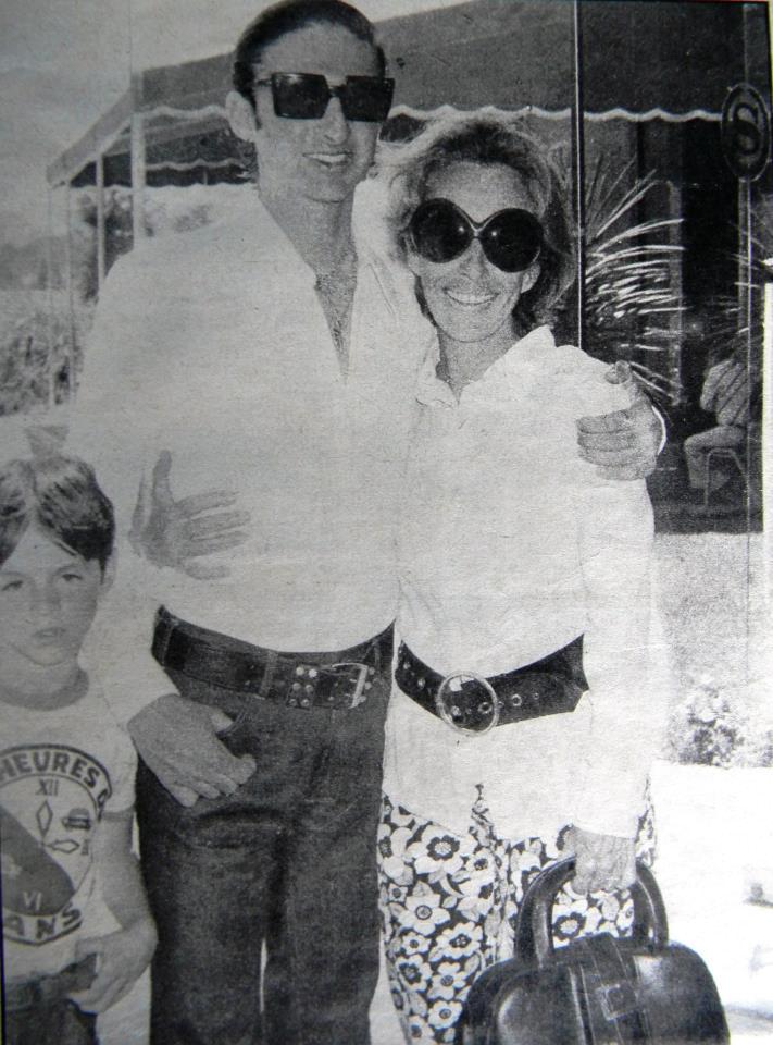 Roberto Canessa  avec sa mere Mecha