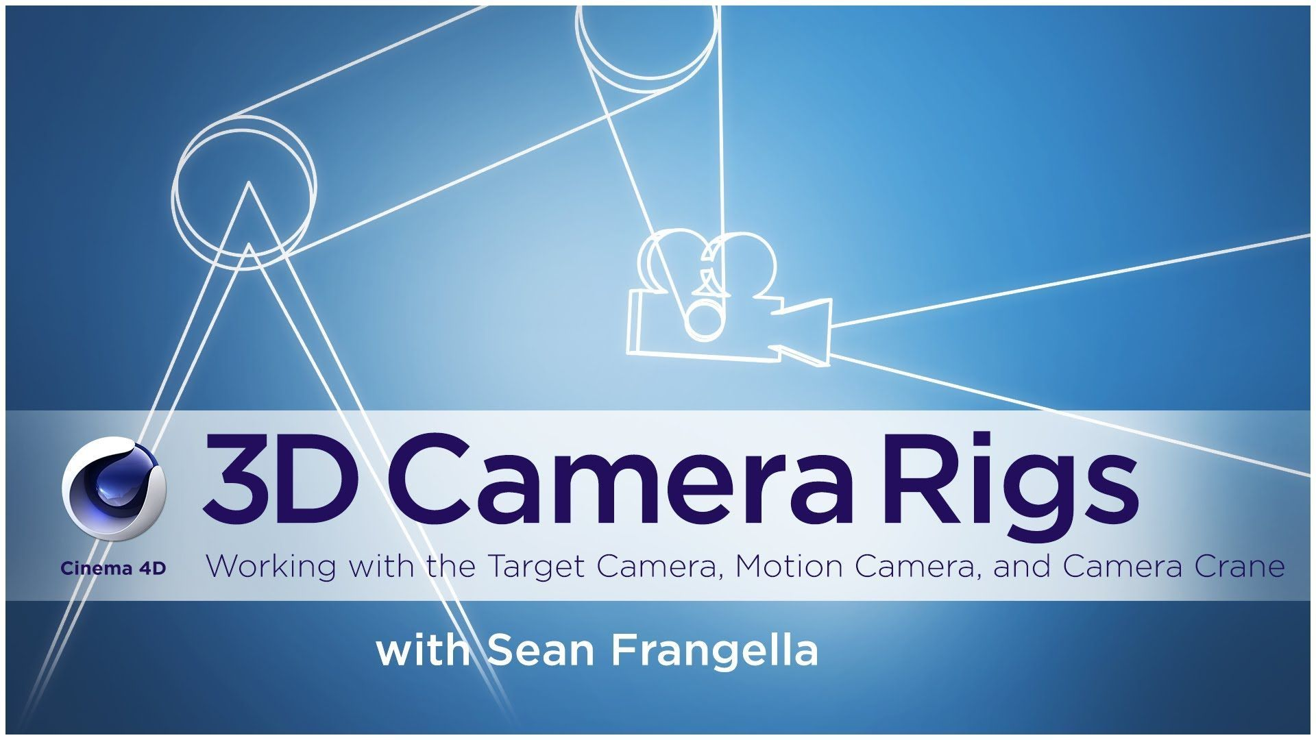 In this Cinema 4D R16 camera tutorial, Part 3 of the Cinema 4D Camera Series.,Learn to work with and animate the built in Cinema 4D camera rigs, including th...