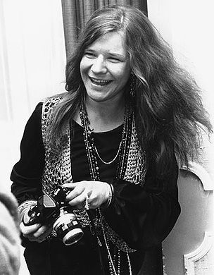 """Janis Joplin The 27-year-old blues singer was found dead in her Los Angeles hotel room, a day before she was scheduled to record the tune """"Buried Alive in the Blues."""" Her cause of death was determined to be a heroin overdose."""