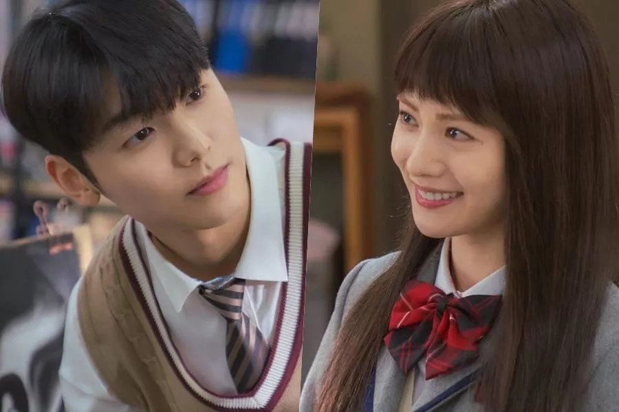 """Nana And CNBLUE's Kang Min Hyuk Show Their Characters' First Meeting As Students In """"Oh My Ladylord"""""""