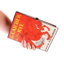 Catcher in the Rye Book Clutch