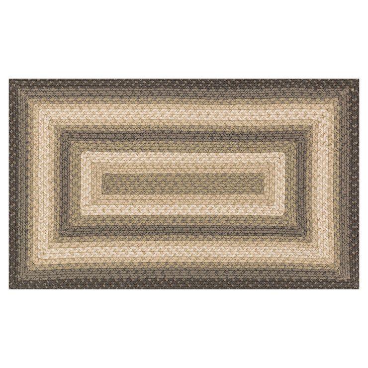 E134 braid neutral 8x10 braided rugs 8x10 rugs neutral