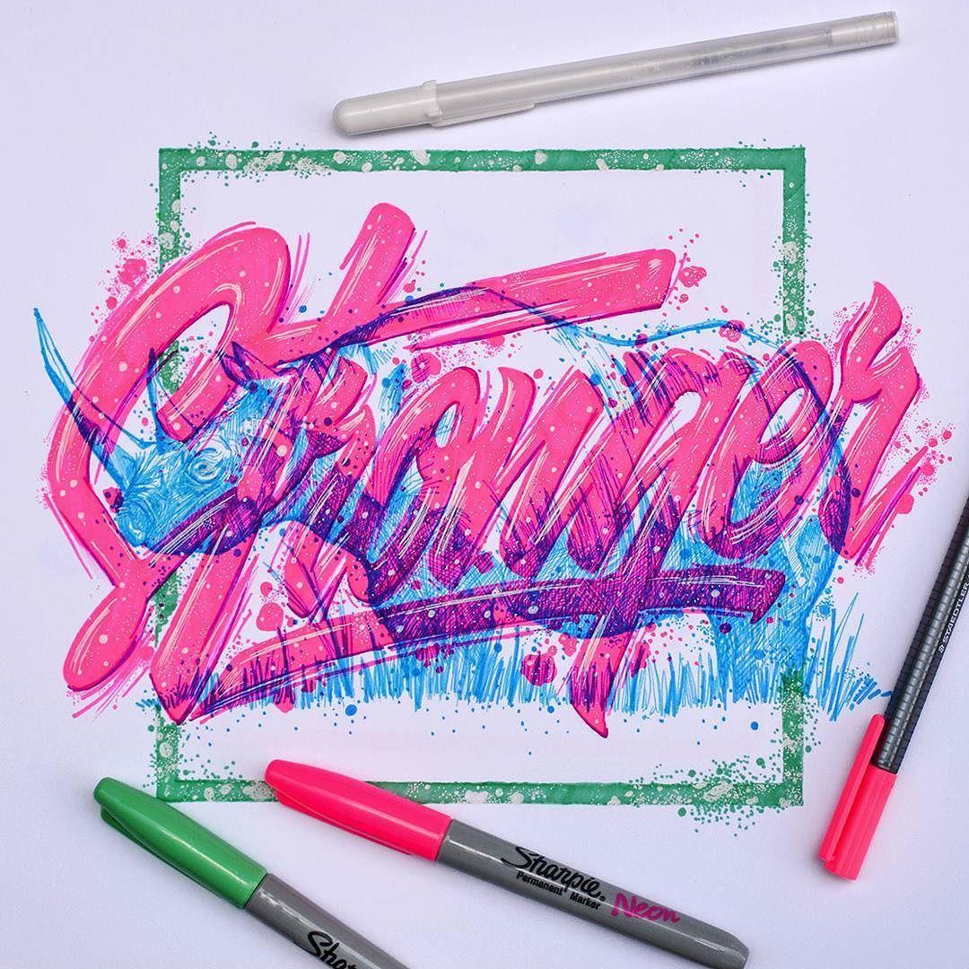 Color art tipografia - Illustrations