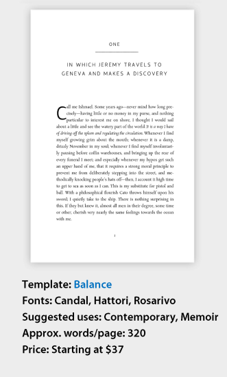 Book Layout Made Easy With A Professionally Designed Word Template