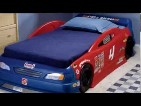 Step2 Stock Car Convertible Bed Car Beds For Boys Pinterest