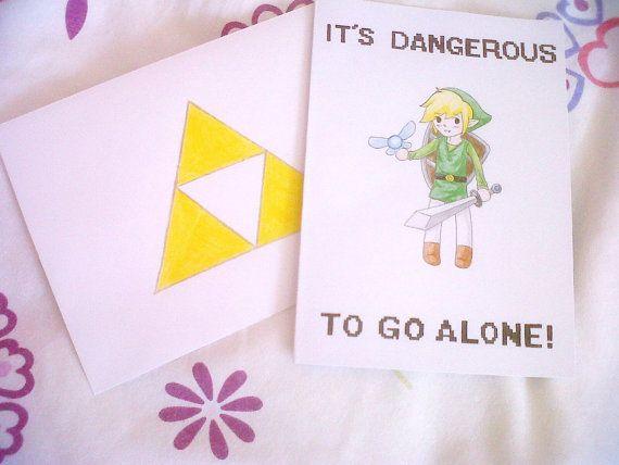 Legend Of Zelda Birthday Card Customisation Optional Etsy Zelda Birthday Birthday Cards Cards