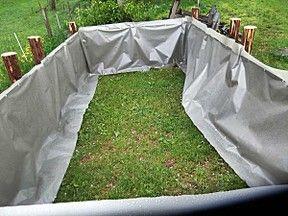 Ein Hochbeet Gunstig Bauen Garten Hochbeet Garten Und Gartenbeet