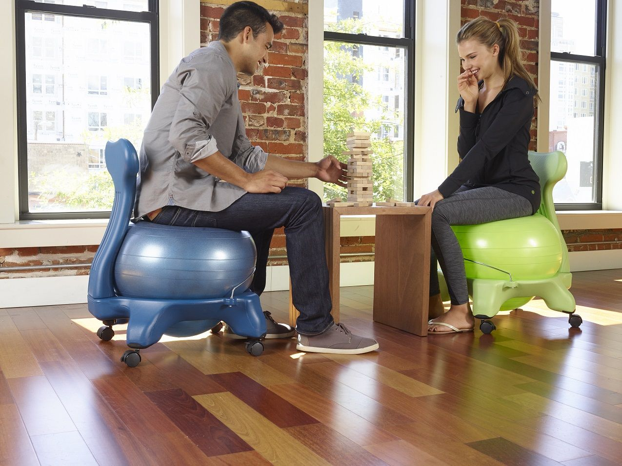 Activate Your Sit with the Gaiam Balance Ball Chair