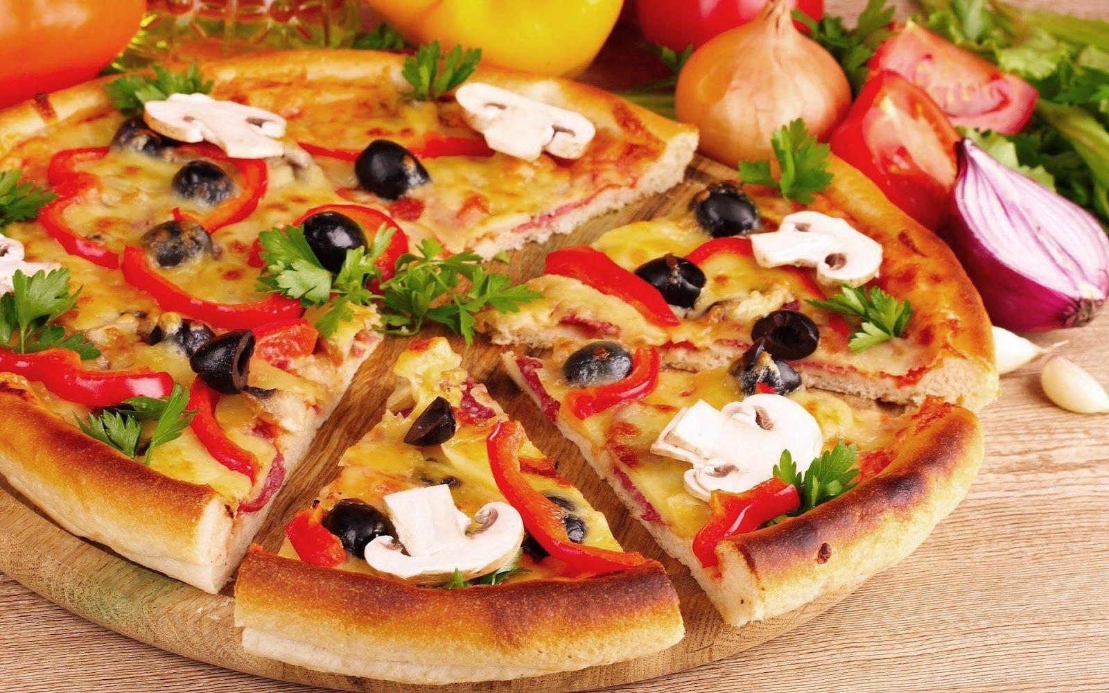 La pizza de Sophie Losof.