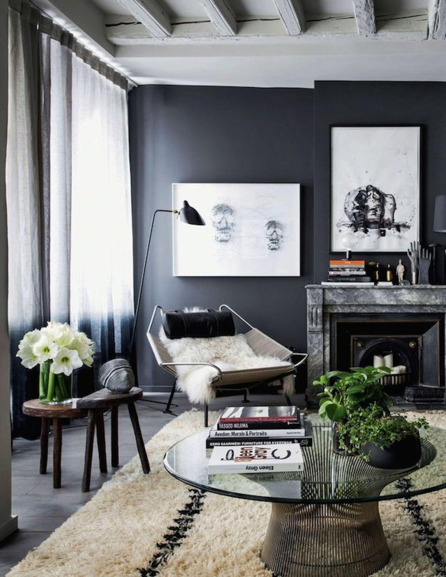 Dark grey living room pin by polseguera on living room  pinterest