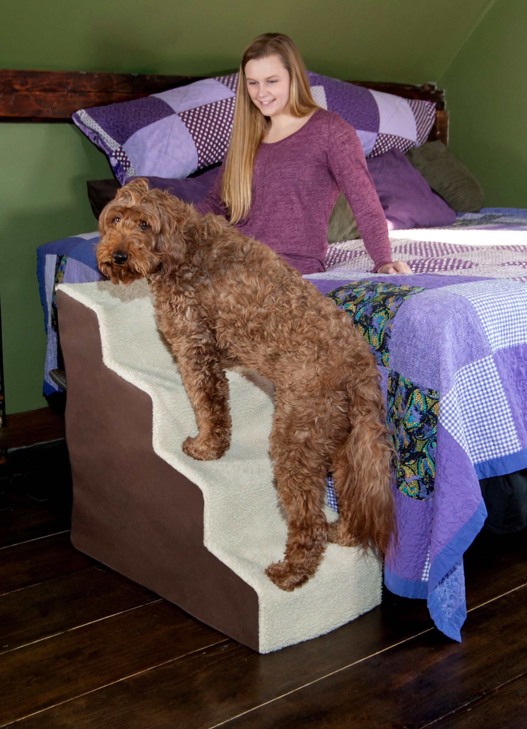 Pet Gear Easy Step Deluxe Soft Step Cat/Dog Stairs Sturdy