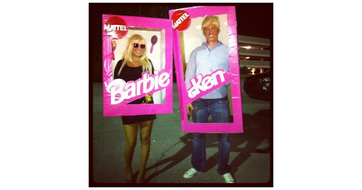 57 Cheap and Original DIY Couples Halloween Costumes Diy couples - barbie halloween costume ideas