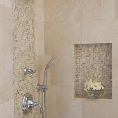 Mother Of Pearl Tiles Bathroom  6 Cut Out Wall Tile In Shower