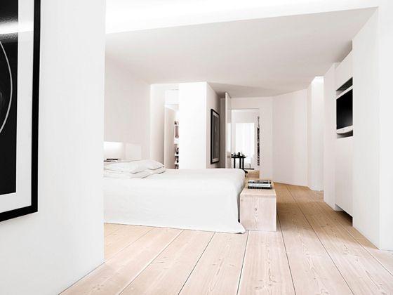 Appartement Kopenhagen by Anouska Hempel, houten planken