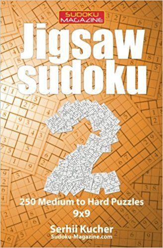 Jigsaw sudoku 250 medium to hard puzzles 99 volume 2 sudoku jigsaw sudoku 250 medium to hard puzzles volume puzzle contain the regions of random irregular shape this variant is called jigsaw sudoku geometry fandeluxe Choice Image