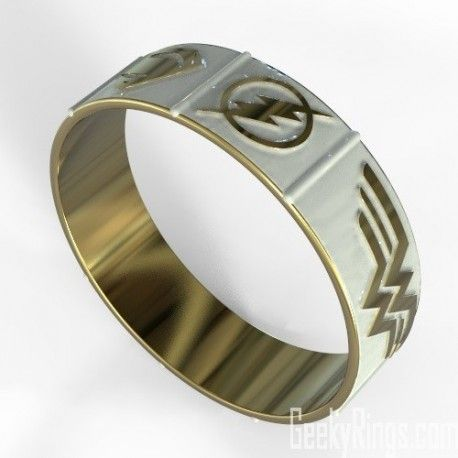 Pin by Geeky Rings on Superhero Wedding Bands Pinterest