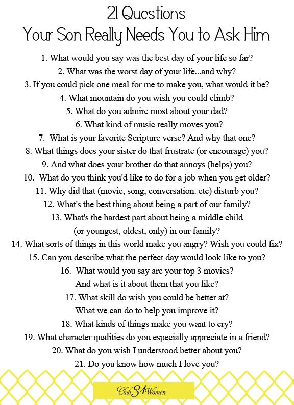 Questions To Ask A Guy You Like 34