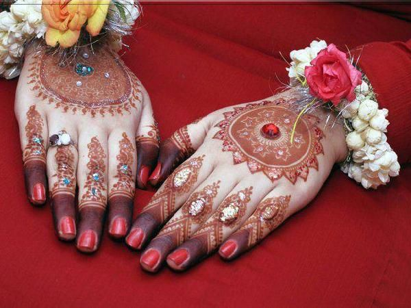 Bridal Mehndi Ideas : Bridal mehndi designs for hands in full handmehndi