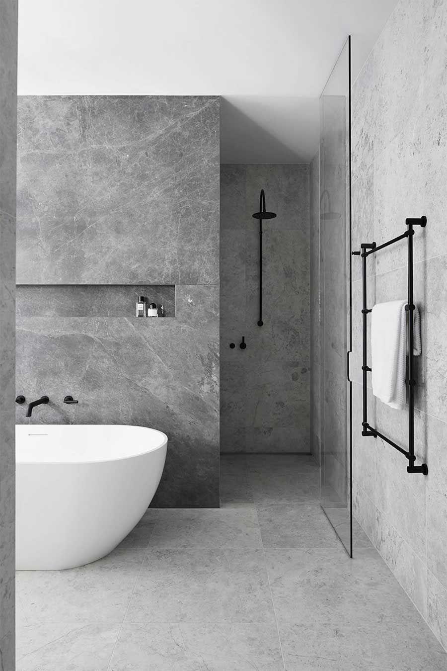 Photo of 50x Badezimmerbeispiele, nette Ideen & nützliche Tipps | HOMEASE-   Luxusbad In…