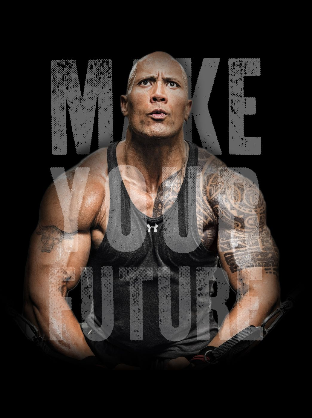 Image I Made This Dwayne Johnson Wallpaper To Motivate Me Whenever