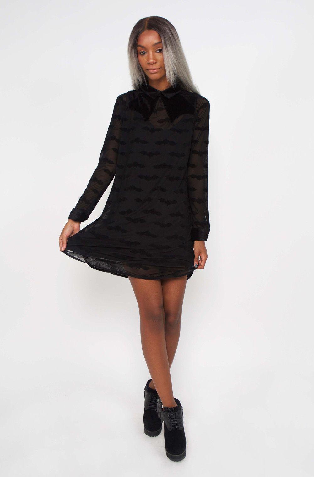 🕷 Madamned Shirt Dress 🕷