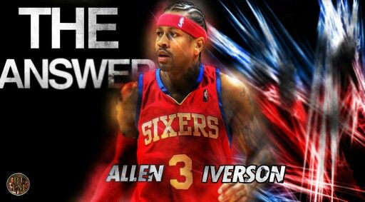 Nba Dope Art: Allen Iverson, Allen Iverson The Answer, Allen
