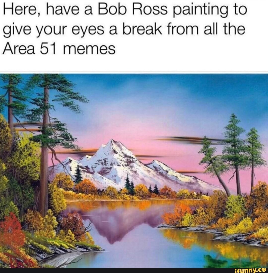 Here's how Bob Ross went from being in the Air Force to a